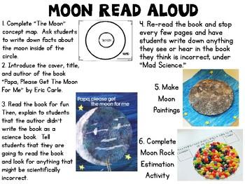 Moon Rocks {Moon Science Activities Pack}