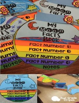 Moon Rocks & My Moon Facts Flipbook