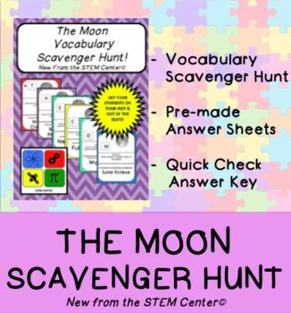 Moon Scavenger Hunt Game