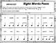 Science & Sight Word Rhythms Set {Ta} and {Titi} - Great for sub tub!