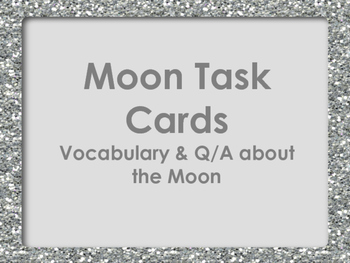 Moon Task Cards