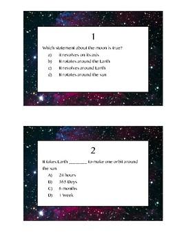 Moon Task Cards