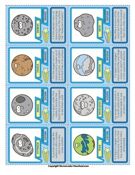 Moon Trading Cards