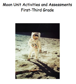 Moon Unit Activities and Assessments