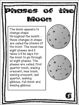 Moon Unit With Non Fiction Text Features