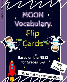 Moon Vocabulary Flip Cards