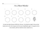 Moon Watcher Calendar and Certificate