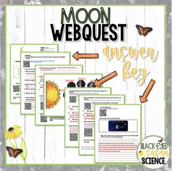 Moon Webquest   NGSS Aligned