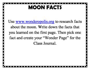 Moon Wondering with Wonderopolis
