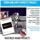 Moon and Earth Digital Research/Website Project