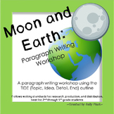 Moon and Earth Writing Workshop