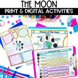 Moon and Lunar Phases Printable and Digital Reading and Ac