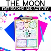 Moon and Lunar Phases Nonfiction Reading and Sketch Note FREE