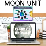 Moon and Moon Phases Reading Poster Activities Flipbook Project for Solar System