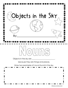 Moon and Space Informational Unit -30+ Pages- (CCSS)