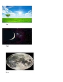 Moon and Sun Vocabulary Picture Cards