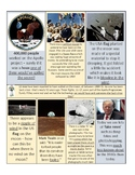 Moon landings - 15-page lesson (starter, notes, 26 piece evidence sort, plenary)