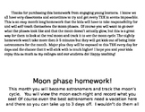 Moon phase homework