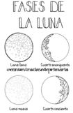 Moon phases - Fases de la luna