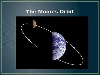 Moon's Orbit Power Point