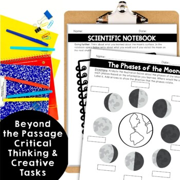 Moon's Phases Nonfiction Close Reading