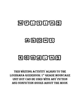Moon Writing ( Fact and Fiction)