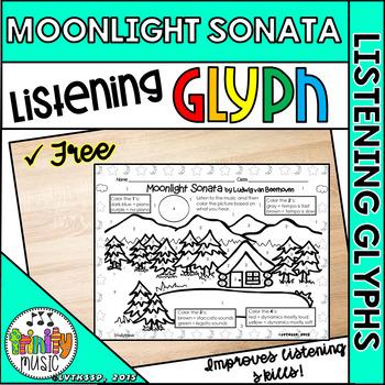 Moonlight Sonata Listening Glyph (FREEBIE)
