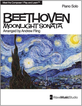 Moonlight Sonata | Sheet Music for Piano - Play and Learn™ Series