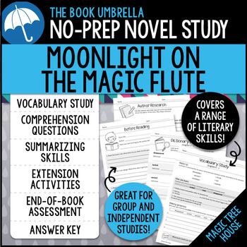 Moonlight on the Magic Flute - Magic Tree House