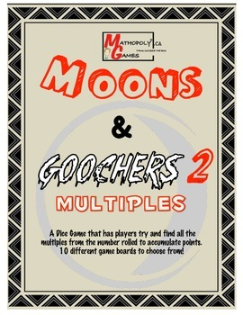 Moons & Goochers 2 - Multiples - Multiplication practice through game play