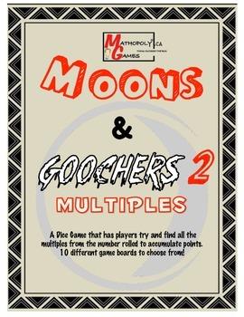 Moons & Goochers 2 - Multiples - Multiplication practice t
