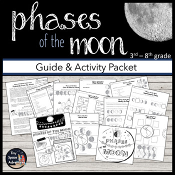 The Moon's Many Phases (Common Core & NGSS)