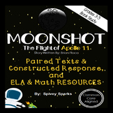 Moonshot Apollo 11 Novel Study and Math Unit Distance Learning