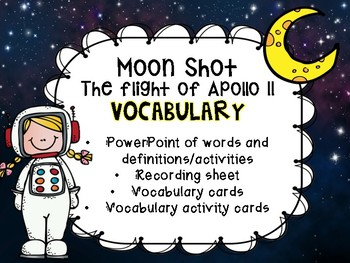 Moonshot The flight of Apollo 11 Vocabulary activity
