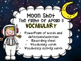 Moonshot The flight of Apollo 11 Vocabulary activity