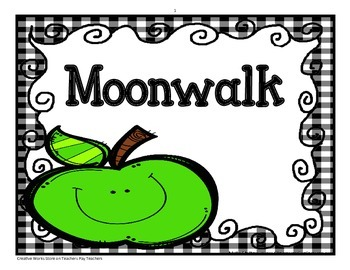 Moonwalk - Tri-folds + Activities