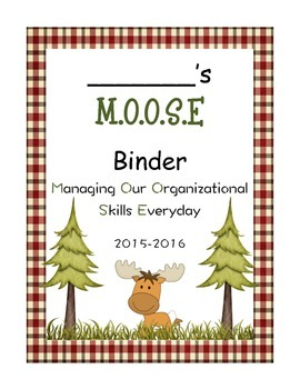 Moose Binder Cover