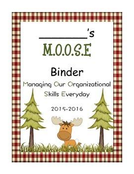 Moose Binder Cover