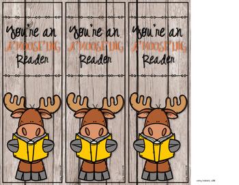 Moose Bookmark- A'moose'ing Reader
