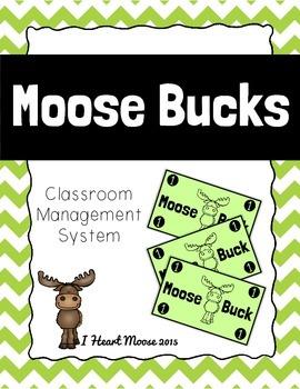FREEBIE: Moose Bucks Classroom Management System