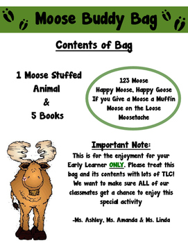 Moose Buddy Bag