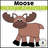 Moose Craft   Moose Activities   Forest Animal Crafts   Arctic Animal Crafts