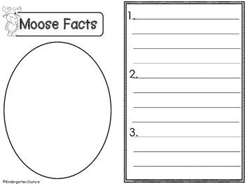 Moose Graphic Organizers