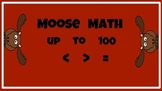 Moose Math Compare Numbers  Greater/Less Than, Equal to , Common Core