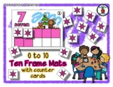Moose & Mouse Winter Friends - Ten Frame Mats 0 to 10 & Co