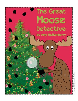 Moose Theme Winter Holiday Party: Scavenger Hunt, Literacy and Art Activities