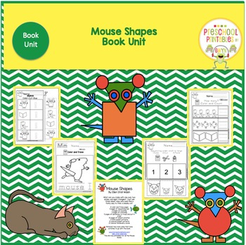 Mouse Shapes-Book Unit-Working with Shapes