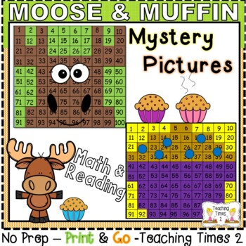 If You Give a Moose a Muffin Hundreds Charts Hidden Pictures