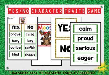 Mooseltoe Character Traits Game