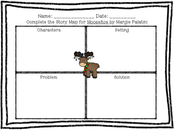 Mooseltoe Graphic Organizer and Craft